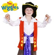 Captain Feathersword Wiggles Costume - Child Small