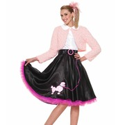 50s Sweetheart Deluxe Poodle Costume - Adult