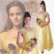 Belle Live Action Deluxe Costume - Adult