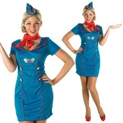 Air Hostess Costume - Adult