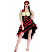 Pirate Lady Costume - Adult Plus