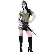 Army Girl Costume - Adult