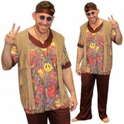 Woodstock Hippie Man - Adult