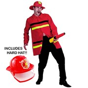 Funny Firefighter Costume - Adult
