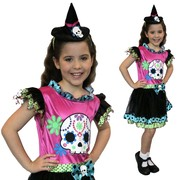 Funky Punk Witch Costume - Child