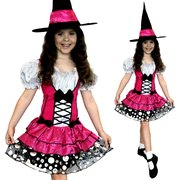 Sassy Pink Witch Costume - Child