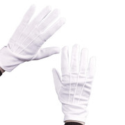 Deluxe Theatrical Santa Gloves with Snap