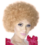 Clown Wig - Curly Blonde Kath Style