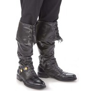 Deluxe Pirate Boot Covers - Adult