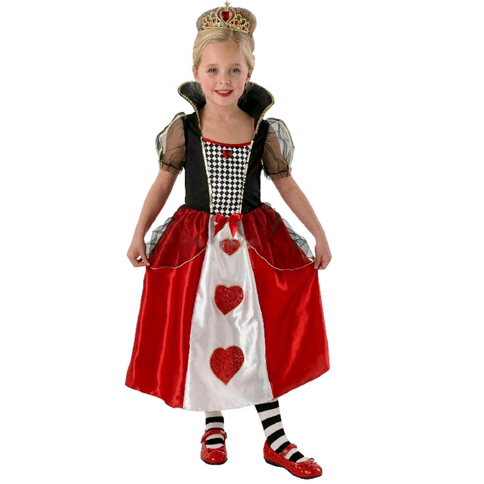 Queen of Hearts Costume - Girls