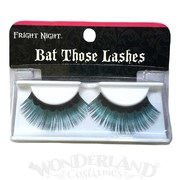 Fright Night Black Teal Tips False Eyelashes