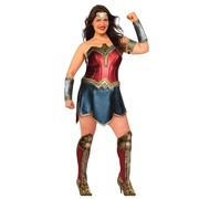 Wonder Woman Justice League Costume - Plus Size