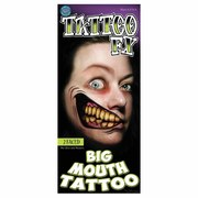 Tinsley Temporary Tattoo FX - 2 Faced Big Mouth