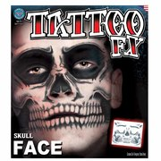 Tinsley Temporary Tattoo FX - Skull Full Face