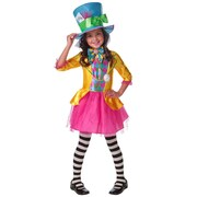 Mad Hatter Costume - Girls (Small sizes)
