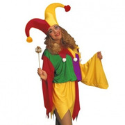 Kings Jester Costume - Adult