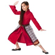 Mulan Deluxe Move Costume - Girls