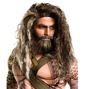 Aquaman Wig & Beard Set - Adult Size