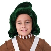 Oompa Loompa Green Wig - Child