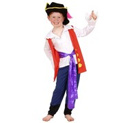 Captain Feathersword Premium Wiggles Costume - Child Small