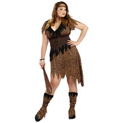Cave Beauty Costume - Adult - Plus
