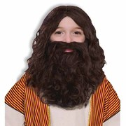 Biblical Wig & Beard Set - Child Size