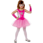 Pink Spider Girl Tutu Costume - Girls