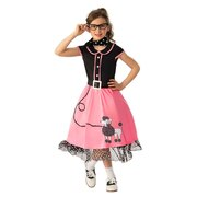 50's Bopper Girl Costume - Child