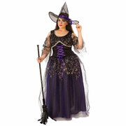 Midnight Witch Costume - Adult Plus Size