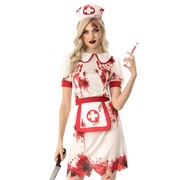 Bloody Nurse Costume - Adult