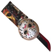 Jason Friday 13th Mask & Machete Set