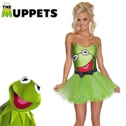 Secret Wishes Kermit Costume - Womens