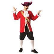 Captain Hook Costume - Adult