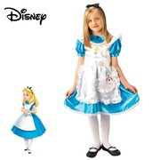Alice in Wonderland Deluxe - Girls - Medium