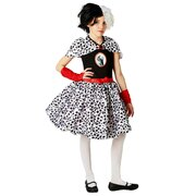 Cruella De Vil Costume - Girls