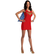 Wonder Woman Tank Dress Rhinestone Costume