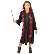 Hermione Hooded Robe & Wand - Child