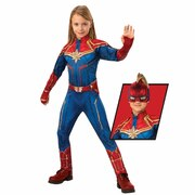 Captain Marvel Deluxe Hero Suit - Child