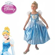 Cinderella Loveheart Costume - Girls - Size 4-6