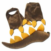 Dinosaur Feet & Tail Set - Brown