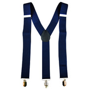 Navy Blue Stretch Braces