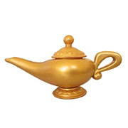 Arabian Nights Genie Lamp - Gold
