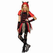 Little Red Wolf Girls Costume - Tween