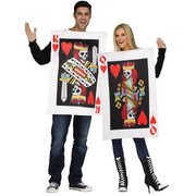 King & Queen of Hearts Playing Card Couple Costume
