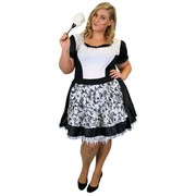 Gothic Maid Costume - Adult Plus