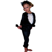 Black Kitty Costume - Child