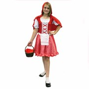 Red Riding Hood Girls Costume - Tween