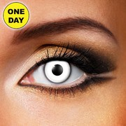 Eye Fusion One Day Contact Lenses - White Out