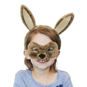 Animal Headband & Mask Set - Kangaroo
