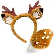 Animal Headband & Tail Set - Deer